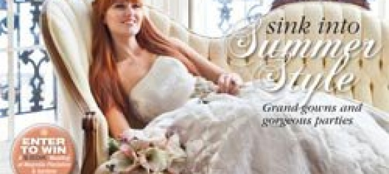 Charleston Weddings Magazine~ Cover Bouquet