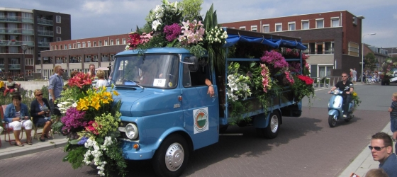Holland Flower Parades!