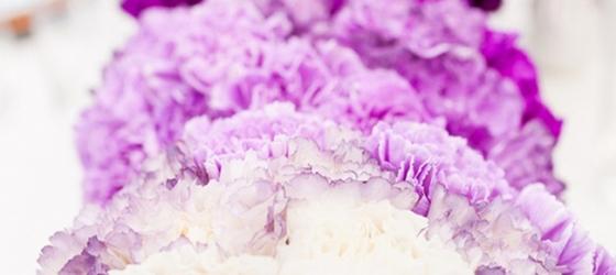 Hot Wedding Trend~ The Ombre Effect Part Deux