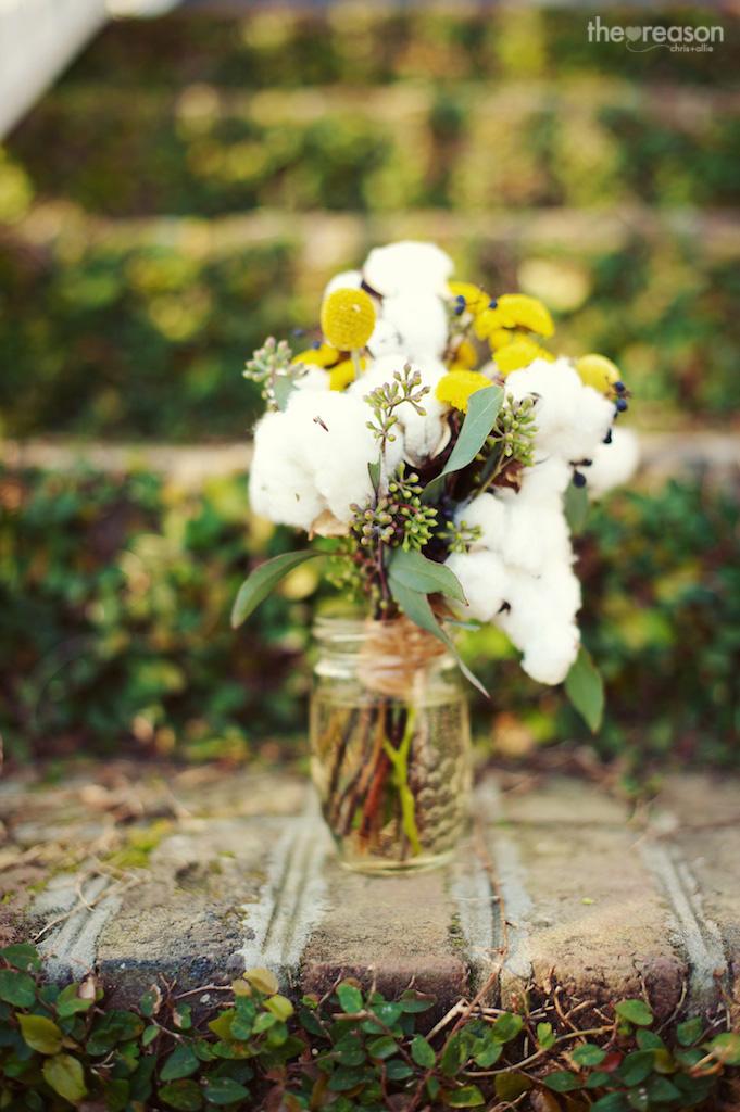 Wide Awake Park Wedding With Cotton Wildflowersinc Com