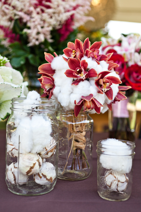 Cotton Is A Hot Trend For Charleston Wedding Flowers