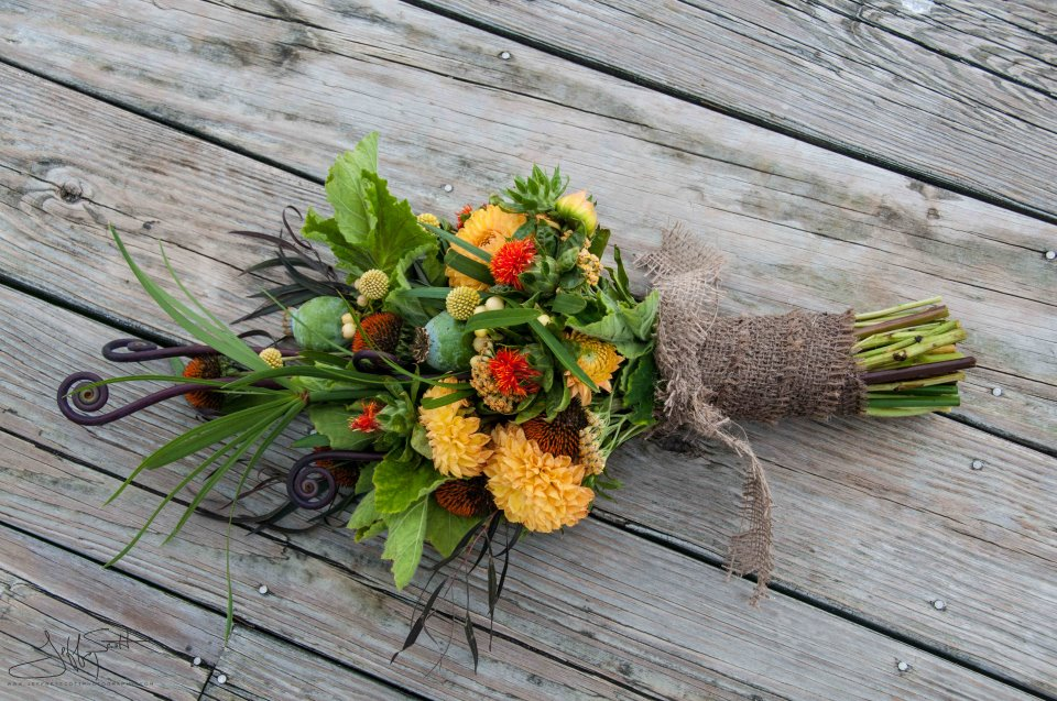 Fall bouquet by WildFlowers, Inc.