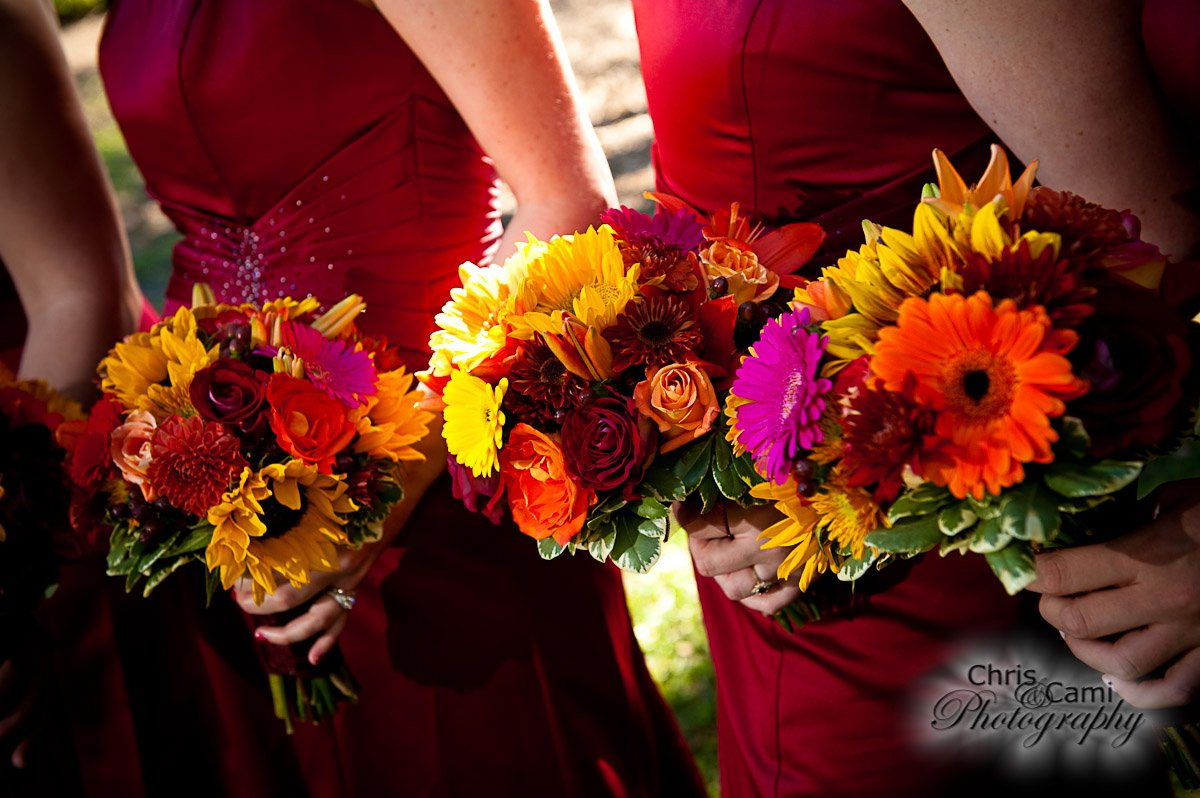Fall bouquets by WildFlowers, Inc.