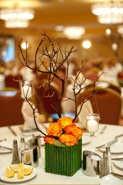 Fall centerpiece by WildFlowers, Inc.