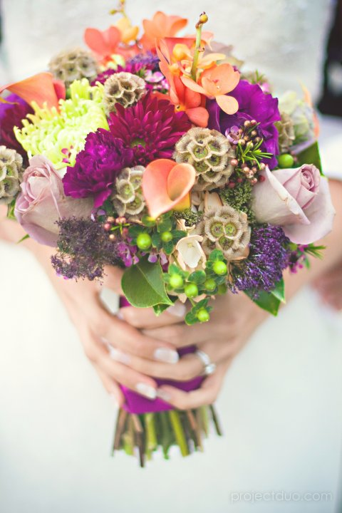 Bridal Bouquet at The Palmer House, Charleston, SC