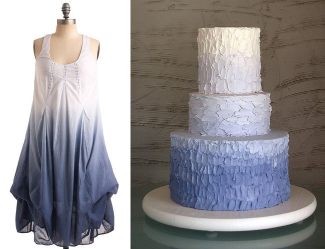 ombre wedding ideas