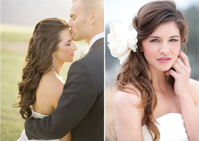 ombre wedding hair