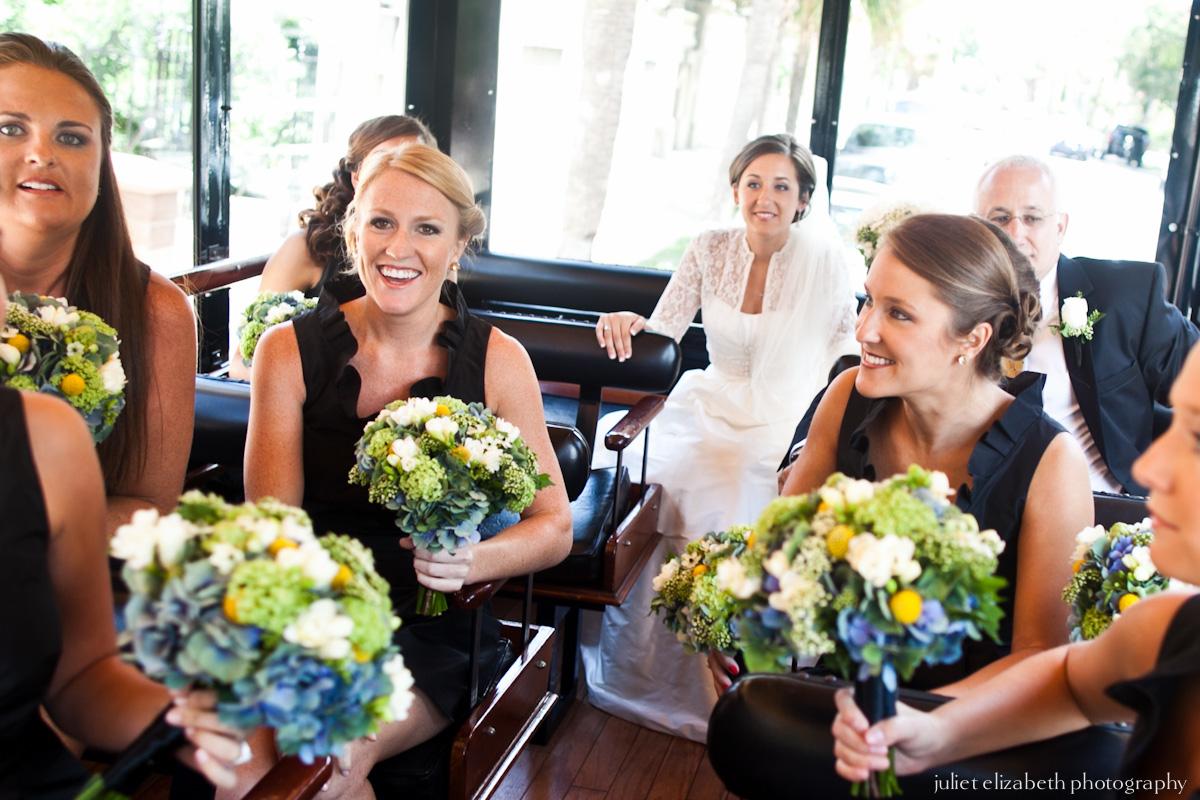 Charleston Bride & Maids