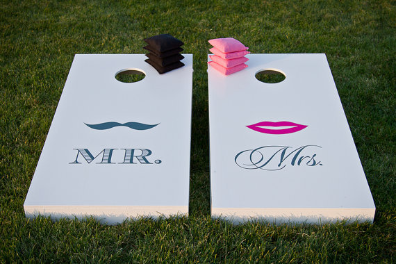 Mr & Mrs Cornhole