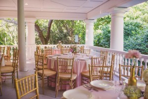 Magnolia Plantation Veranda Wedding