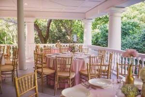 Magnolia Plantation Veranda Wedding